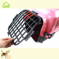 Fashion Portable Plastic Pet Carrier Cage for Dogs