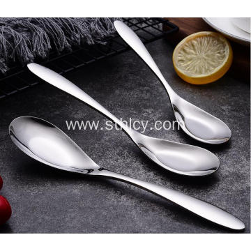 Tableware 304 Stainless Steel Spoon