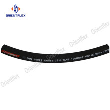 Steel braided hydraulic rubber hose 100 r2