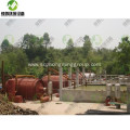 Pyrolysis Old Tyre to Diesel Recycling Plant