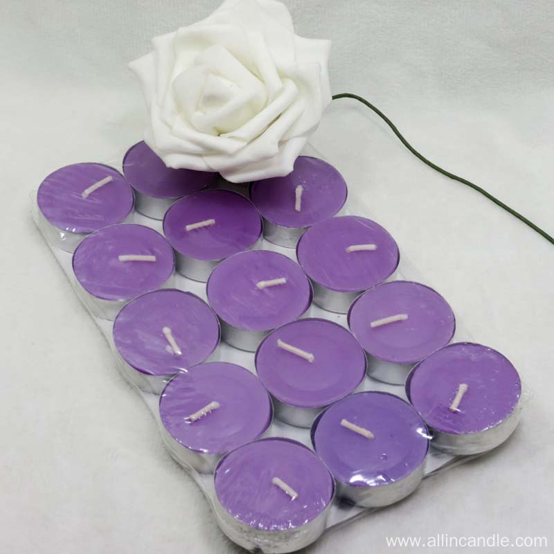 High qulity 8 hour tea lights for wedding
