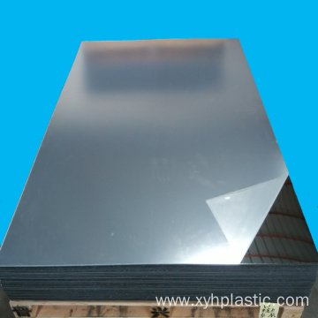 Golden Silver Mirror Acrylic Board 2mm 3mm Thickness