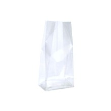 China for Environmental PE Flat Bottom Plastic Bag The environmental protection pe flat bottom bag supply to Russian Federation Wholesale