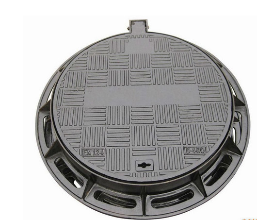 Ductile Iron Manhole Covers Rain Perforated Strainer factory sale