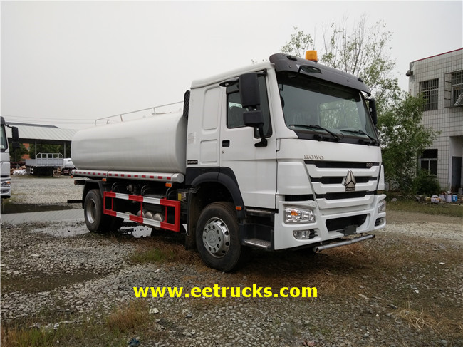 HOWO 5CBM Water Tank Trucks