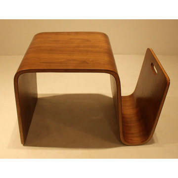 Mid Century Modern Scando Plywood Side Table