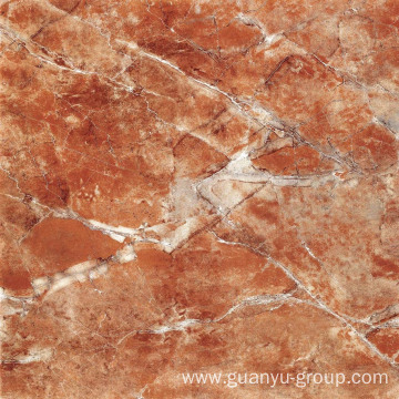 Red Micro Crystal Polished Porcelain Floor Tile
