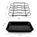 Non Stick BBQ Roast Rack With Basket