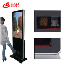 55 inch shoe polishing advertising machine
