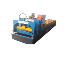 Sri-Lanka automatic metal cold glazed roof making machine