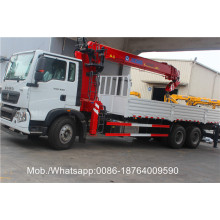Customized for Crane Truck Diesel SQ5SK3Q 5 Ton Telescoping Boom Crane export to Somalia Factories