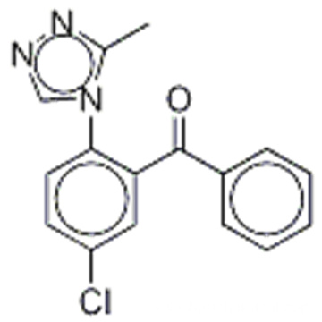 5-CHLOOR-2-(3-METHYL-4H-1,2,4-TRIAZOOL-4-YL)BENZOFENON CAS 36916-19-5
