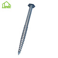 Ground Screw Anchor with  Hex Flange