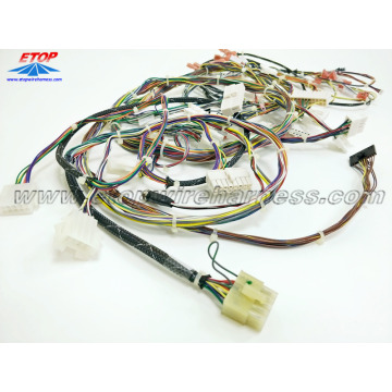 China for wiring harness for game machine custom wire harness for game machine export to United States Importers