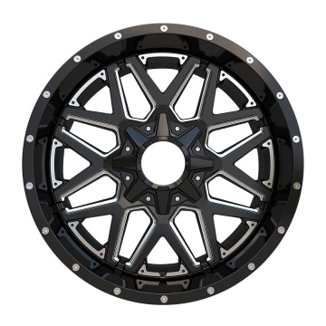After Market Offroad Wheel 20x10 6X139.7 Black Milled