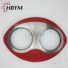 Hot sale for Putzmeister Wear Plate Mitsubishi Concrete Pump Spectacle Wear Plate supply to China Macau Manufacturer