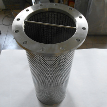 All Weld Stainless Steel Basket Filter