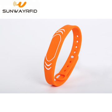 860-960MHZ Adjustable Silicone Rfid Wristbands Bracelet