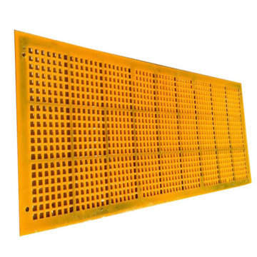 Customized square hole polyurethane screen