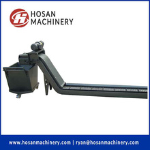 Hinged belt type chip conveyor for cnc machine