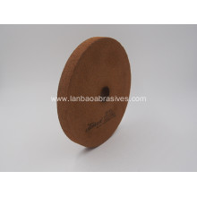 Rubber bond Peripheral BK Polishing wheel