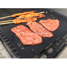 Customized for Non-Stick Grilling Mesh Non-stick and reusable PTFE grill mat supply to Chile Importers