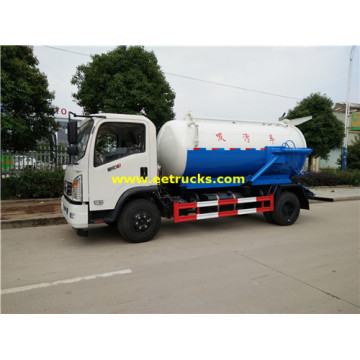 3 Ton 4000L Fecal Sucking Trucks