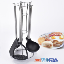 Stainless Steel Nylon Material Kitchen Utensils Set