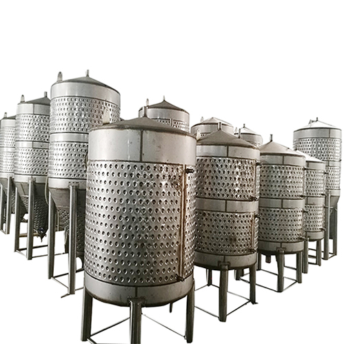 Fermentation tank production