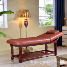 Massage facial en bois durable de style simple