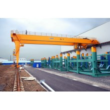 Low Cost for Rubber Tyre Gantry Crane Semi-gantry Crane 10t export to St. Helena Manufacturer