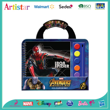 MARVEL AVENGERS carry art set