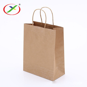 handle paper bag with round rope
