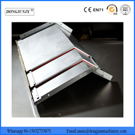 Steel Telescopic Machine Bellow Cover