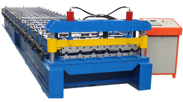 metal ibr roofing machine