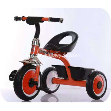 Comfortable Safe Feet Move Children Tricycle