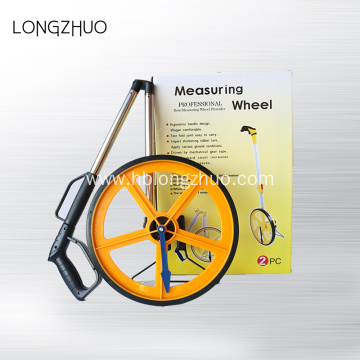 Foldable Aluminum Handle Walking Distance Measuring Wheel