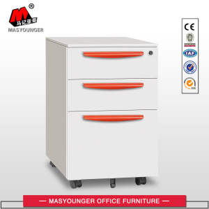 With Plastic Handles Mobile Pedestal