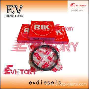 YANMAR engine piston 3T75 piston ring