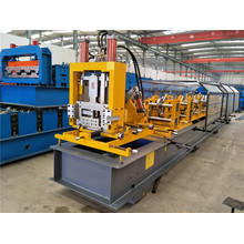 High Quality Industrial Factory for Interchangeable C Z Purlin Roll Forming Machine Hydraulic C Section Roll Forming Machinery export to Reunion Factories
