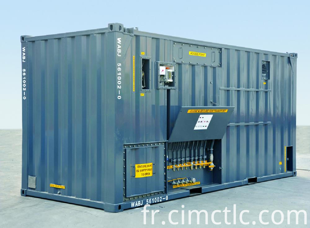 Equipment Container Integration