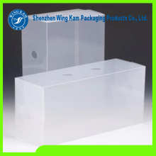 Clear PET plastic Food Grade candy Box Packaging with Wing Kam brand