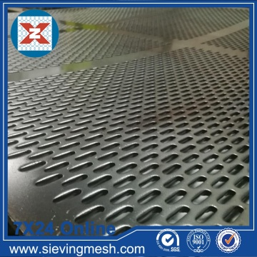 Slot Hole Perforated Metal Mesh