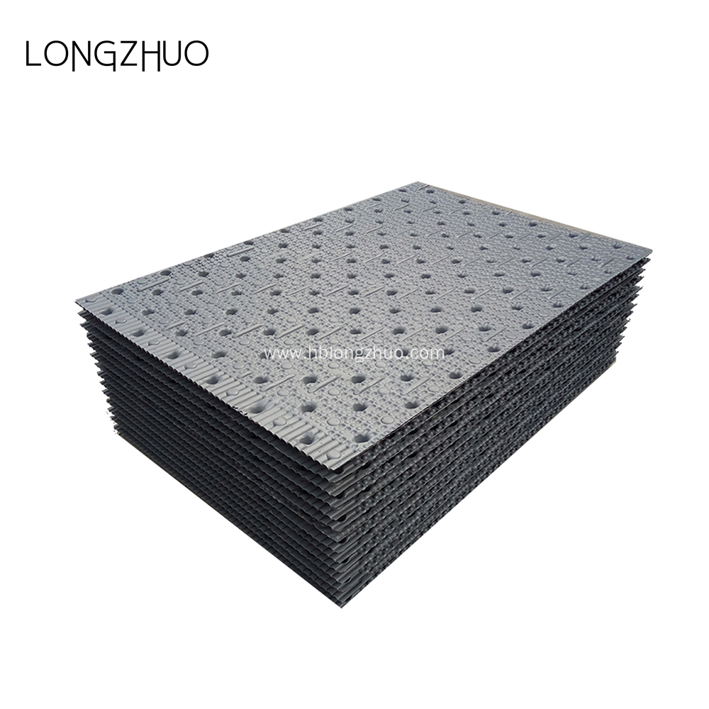Virgin PVC 750*800mm Cross Flow Cooling Tower Infill
