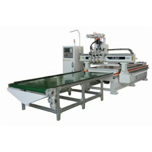 Panel Wood Processing CNC Router with Boring Bits