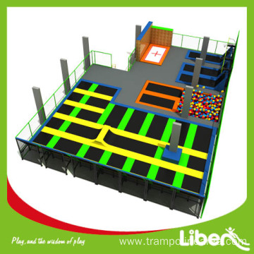 Big Indoor Trampoline Basketball Courts for Sale