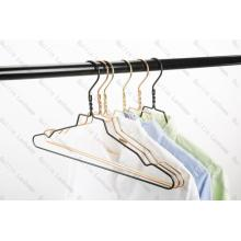 Personlized Products for Aluminum Clothes Hangers Hot Sale Shiny Aluminium Hanger With Notches supply to Russian Federation Importers