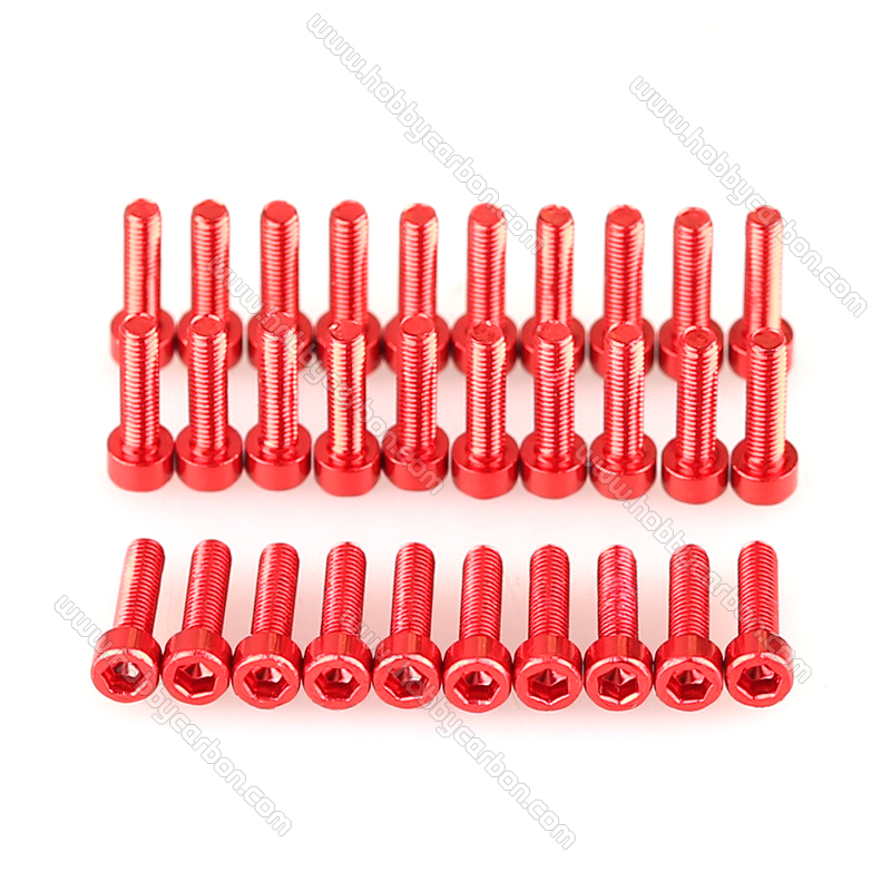 button aluminum screw