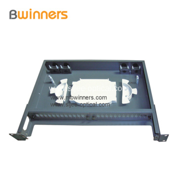 1U 24 Cores Fixed Type Fiber Optic Rack Mount Terminal Box
