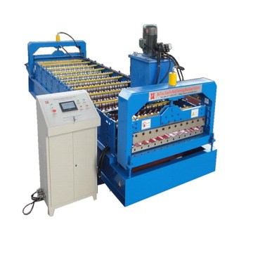 CNC Galvanized Corrugated Roof Sheet Making Machine